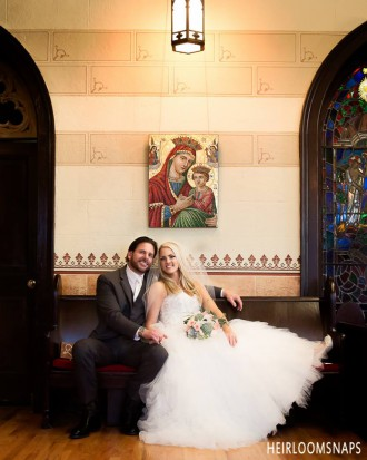 Timeless Romance- Regal Church Wedding