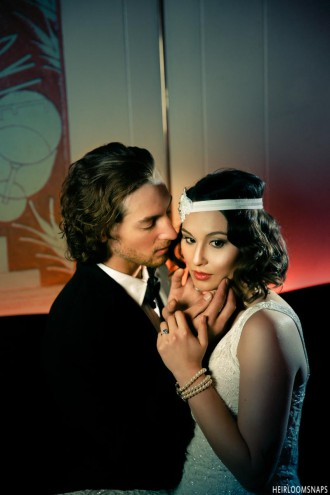 A 20's Themed Sparkle: The Oxford Hotel Styled Shoot