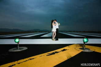 Cleared for Landing: Brandy and Kevin's Engagement Shoot