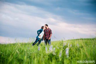 Roughing the Weather, Together: Katie and Mark's Engagement