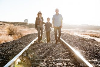 A Close-Knit Family on the Move: Megan, Eric and Mason
