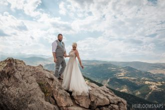 Answering the Call of the Mountains- Autumn and Steven's Boulder Wedding