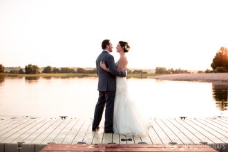 From a Postcard to Reality- Mollie and Travis at Pelican Lakes
