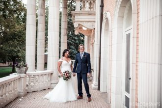 Standing the Test of Time: Olivia and Jason at the Grant-Humphreys Mansion