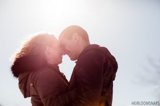 Snowy Kisses and Sandy Wishes- Tayler and Brian's Engagement