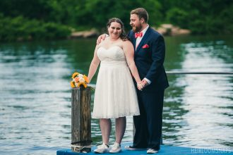 Melanie and Vince Lake Front Wedding