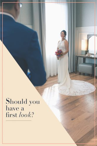 The Sparkle in their Eye: Should you have a First Look at your Wedding?