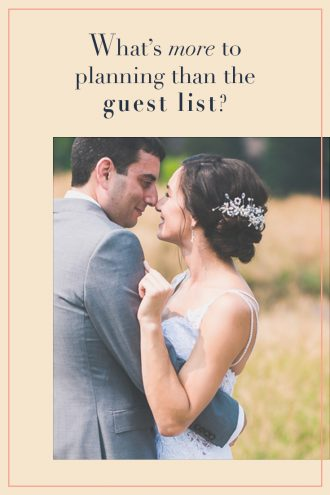 What's more to Planning than the Guest List: Wedding Planning Woe