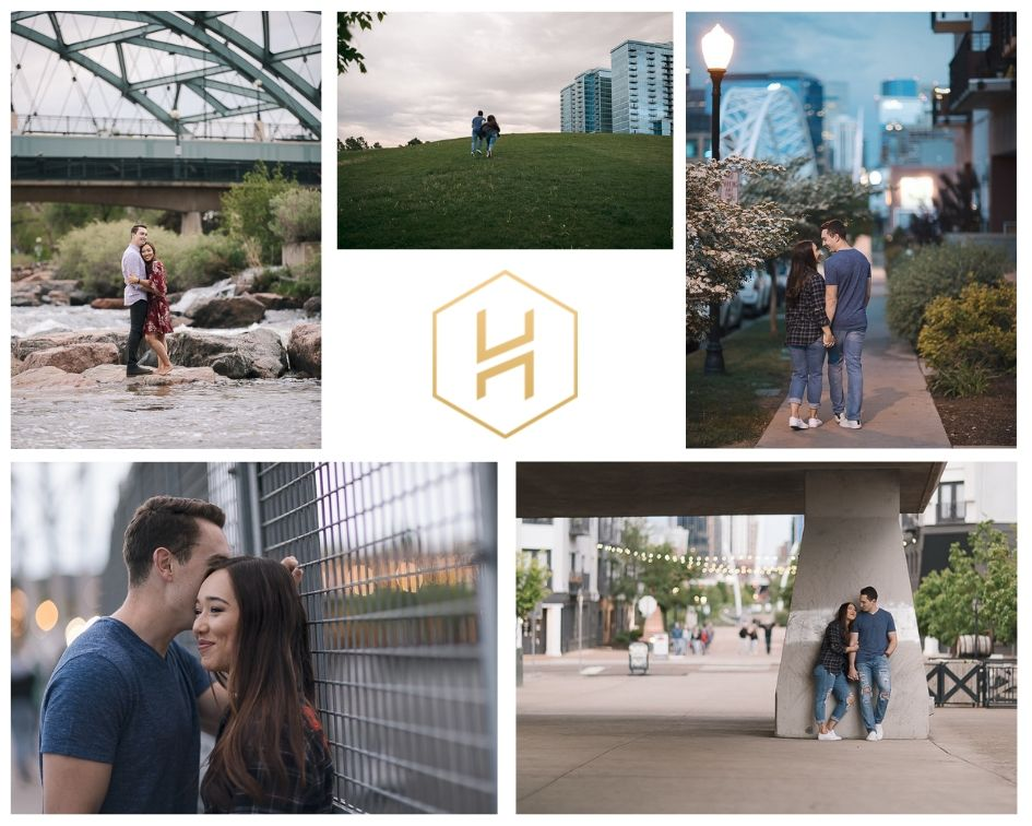 Five Urban Engagement Sessions in Downtown Denver