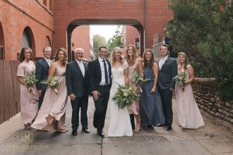 Classic Boulder Wedding | Modern Art Gallery | Rembrandt Yard