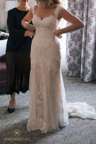 Finding your Wedding Dress-Swooned at the Sight of You