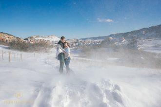 Winter Engagement Highlight Video  Ken Caryl, Colorado