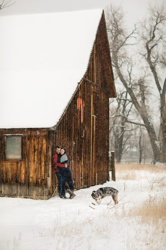 Winter Engagement Video| Lost Gulch| Boulder