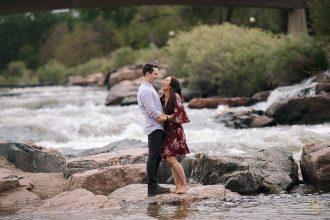 Downtown Denver Engagement | Photo Ideas | Locations
