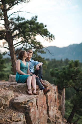 Marshall Mesa | Boulder Engagement | Colorado Photographer